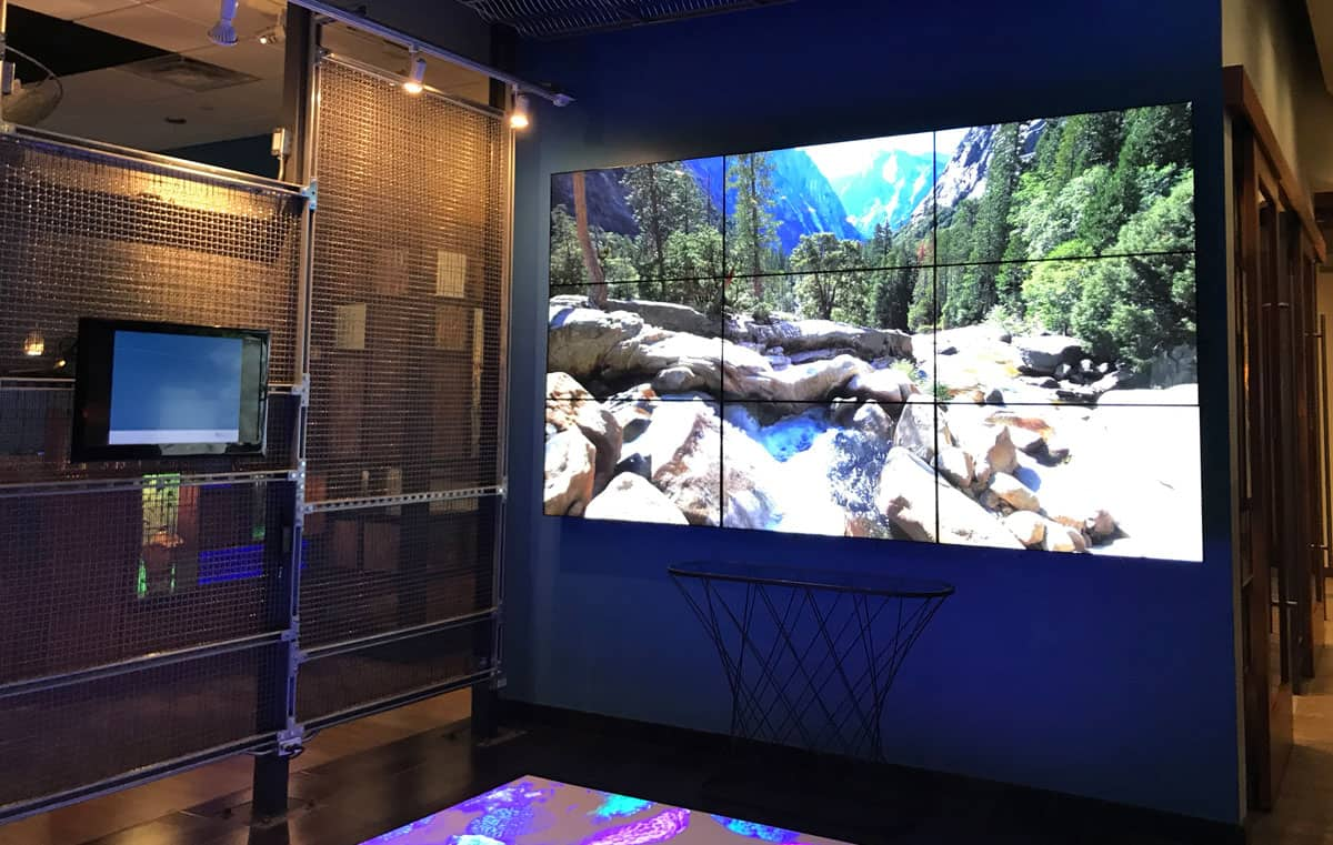 BlueShore Financial Video Wall