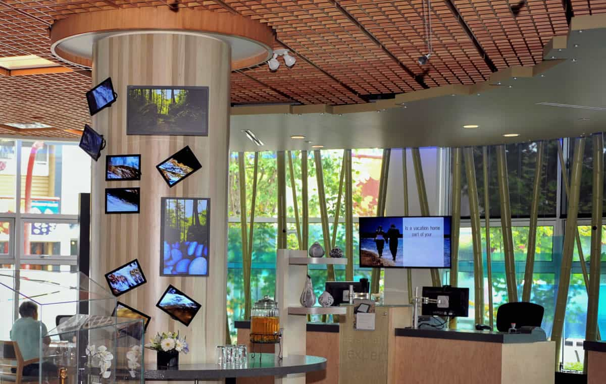 BlueShore Financial - Branch Screens